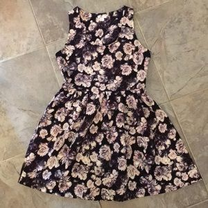 Pink/Purple Floral Dress